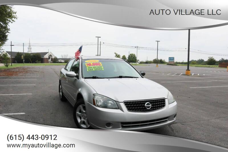 2006 Nissan Altima for sale at AUTO VILLAGE LLC in Lebanon TN