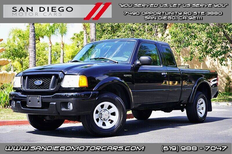 2005 Ford Ranger for sale at San Diego Motor Cars LLC in San Diego CA