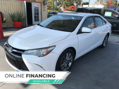 2017 Toyota Camry for sale at Auto Emporium in Wilmington CA
