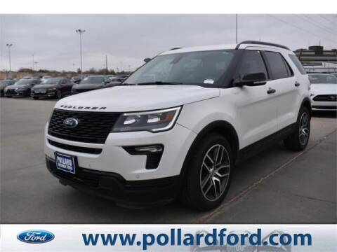 2018 Ford Explorer for sale at South Plains Autoplex by RANDY BUCHANAN in Lubbock TX