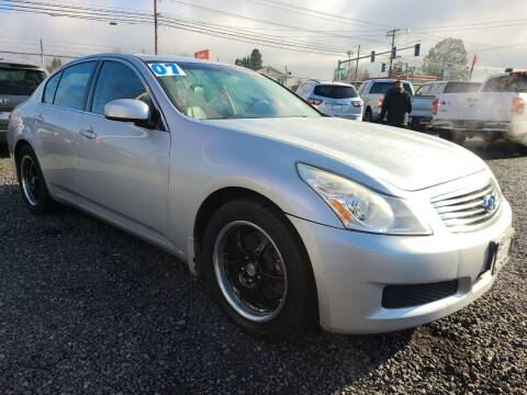 2007 Infiniti G35 for sale at Universal Auto Sales in Salem OR