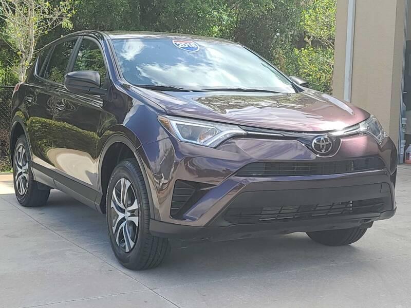 2018 Toyota RAV4 for sale at Jeff's Auto Sales & Service in Port Charlotte FL