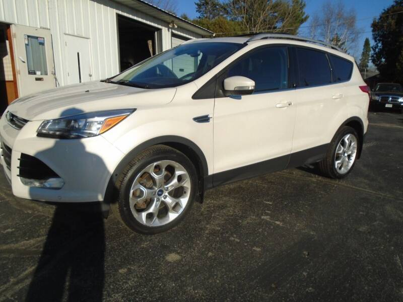 2015 Ford Escape for sale at NORTHLAND AUTO SALES in Dale WI