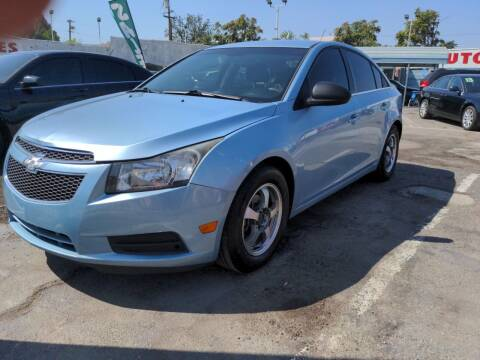 2012 Chevrolet Cruze for sale at Best Deal Auto Sales in Stockton CA