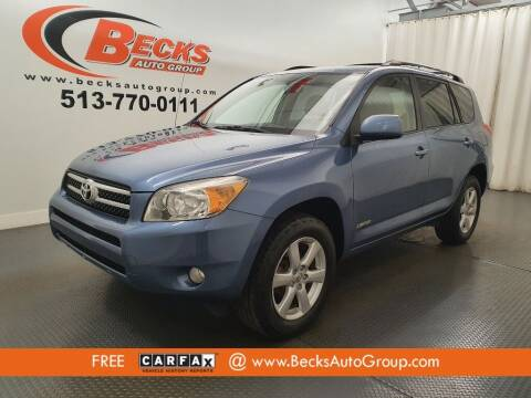 2008 Toyota RAV4 for sale at Becks Auto Group in Mason OH