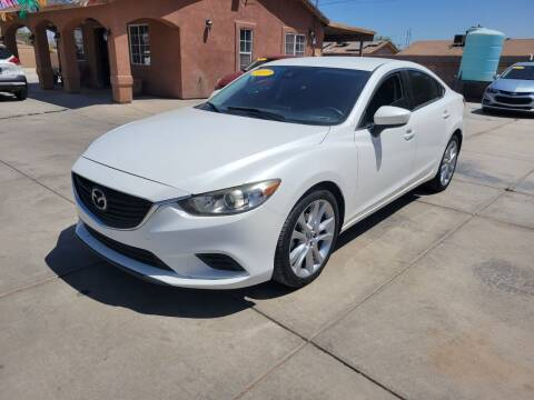 2017 Mazda MAZDA6 for sale at A AND A AUTO SALES in Gadsden AZ