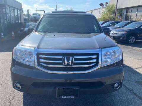 2012 Honda Pilot for sale at A&R Motors in Baltimore MD