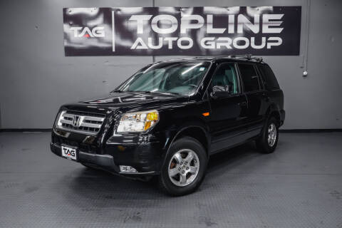 2006 Honda Pilot for sale at TOPLINE AUTO GROUP in Kent WA