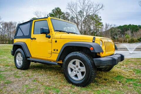 2008 Jeep Wrangler for sale at Rodgers Enterprises in North Charleston SC