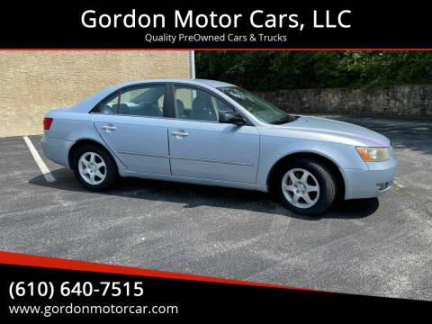 2006 Hyundai Sonata for sale at Gordon Motor Cars, LLC in Frazer PA