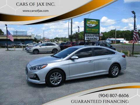 2018 Hyundai Sonata for sale at CARS OF JAX INC. in Jacksonville FL