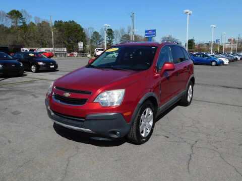2012 Chevrolet Captiva Sport for sale at Paniagua Auto Mall in Dalton GA