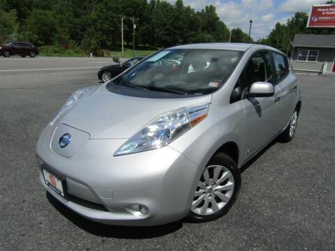 2013 Nissan LEAF for sale at Guarantee Automaxx in Stafford VA