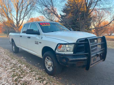 2013 RAM Ram Pickup 2500 for sale at BELOW BOOK AUTO SALES in Idaho Falls ID
