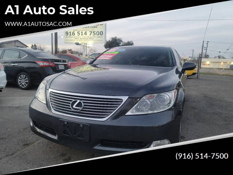 2007 Lexus LS 460 for sale at A1 Auto Sales in Sacramento CA