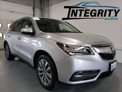 2014 Acura MDX for sale at Integrity Motors, Inc. in Fond Du Lac WI