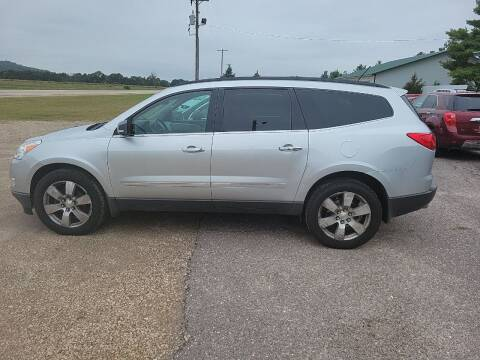 2012 Chevrolet Traverse for sale at SCENIC SALES LLC in Arena WI