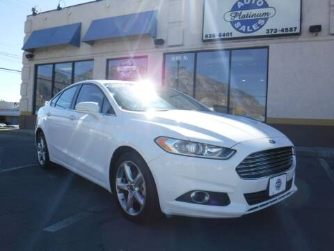 2015 Ford Fusion for sale at Platinum Auto Sales in Provo UT