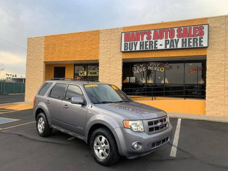 2008 Ford Escape for sale at Marys Auto Sales in Phoenix AZ