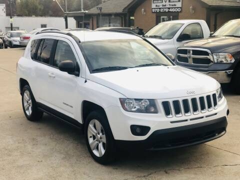 2016 Jeep Compass for sale at Safeen Motors in Garland TX