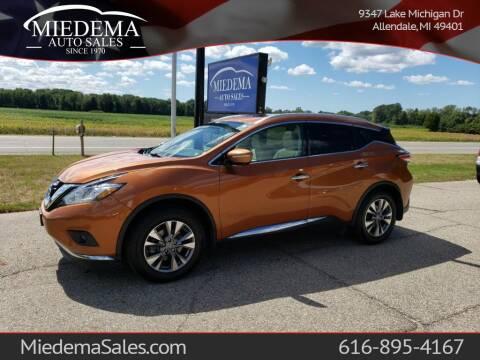 2015 Nissan Murano for sale at Miedema Auto Sales in Allendale MI