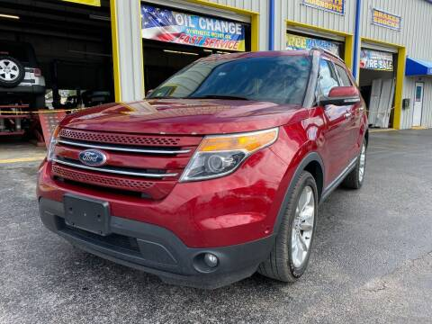 2015 Ford Explorer for sale at RoMicco Cars and Trucks in Tampa FL