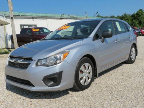 2013 Subaru Impreza for sale at Low Cost Cars in Circleville OH