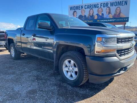 2017 Chevrolet Silverado 1500 for sale at FAST LANE AUTOS in Spearfish SD