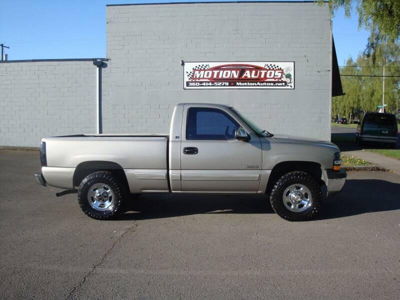 1999 Chevrolet Silverado 1500 for sale at Motion Autos in Longview WA