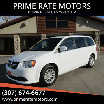 2019 Dodge Grand Caravan for sale at PRIME RATE MOTORS in Sheridan WY