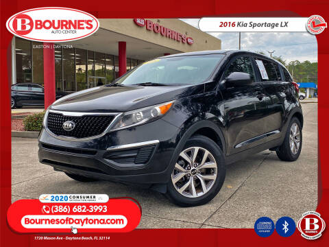 2016 Kia Sportage for sale at Bourne's Auto Center in Daytona Beach FL