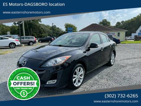 2010 Mazda MAZDA3 for sale at ES Motors-DAGSBORO location in Dagsboro DE