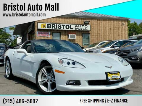 2008 Chevrolet Corvette for sale at Bristol Auto Mall in Levittown PA