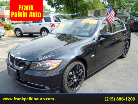 2007 BMW 3 Series for sale at Frank Paikin Auto in Glenside PA