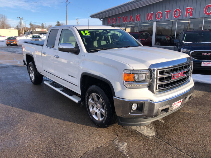 2015 GMC Sierra 1500 for sale at ROTMAN MOTOR CO in Maquoketa IA