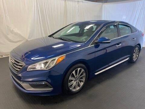 2015 Hyundai Sonata for sale at Rick's R & R Wholesale, LLC in Lancaster OH