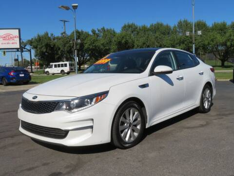 2016 Kia Optima for sale at Low Cost Cars North in Whitehall OH