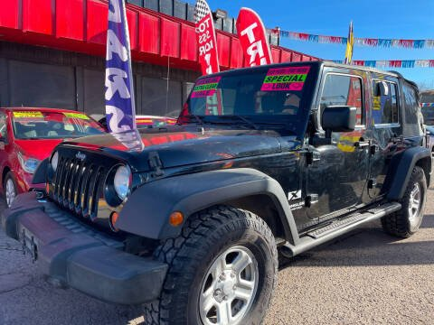 2007 Jeep Wrangler Unlimited for sale at Duke City Auto LLC in Gallup NM