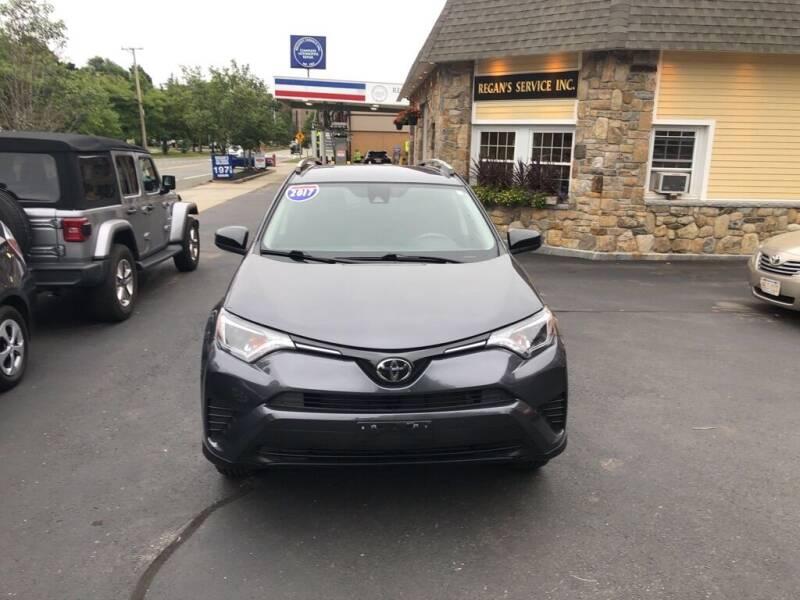 2017 Toyota RAV4 for sale at Regans Automotive Inc in Auburndale MA
