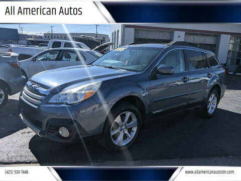 2013 Subaru Outback for sale at All American Autos in Kingsport TN