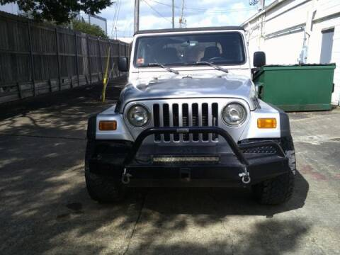 2003 Jeep Wrangler for sale at AUTO VALUE FINANCE INC in Stafford TX