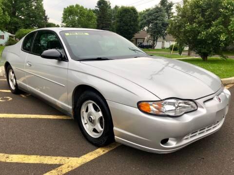 2004 Chevrolet Monte Carlo for sale at Perfect Choice Auto in Trenton NJ