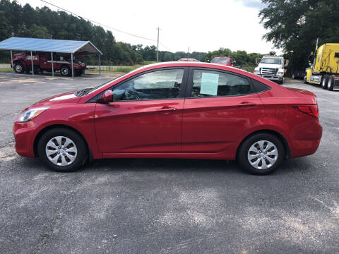 2016 Hyundai Accent for sale at Owens Auto Sales in Norman Park GA