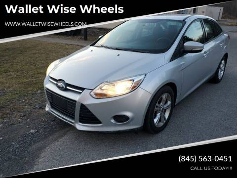 2013 Ford Focus for sale at Wallet Wise Wheels in Montgomery NY