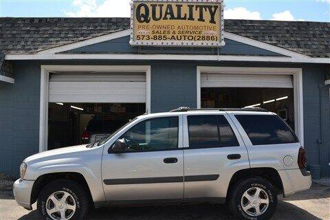 2005 Chevrolet TrailBlazer for sale at Quality Pre-Owned Automotive in Cuba MO