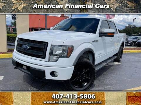 2014 Ford F-150 for sale at American Financial Cars in Orlando FL