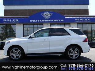 2018 Mercedes-Benz GLE for sale at Highline Group Motorsports in Lowell MA