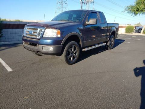2005 Ford F-150 for sale at Sooner Automotive Sales & Service LLC in Peoria AZ