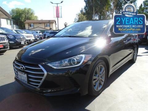 2017 Hyundai Elantra for sale at Centre City Motors in Escondido CA