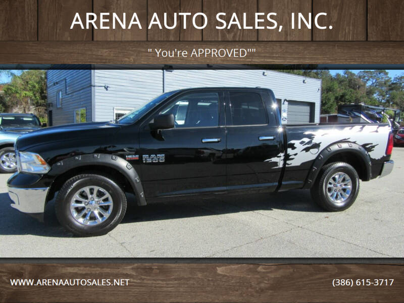 2014 RAM Ram Pickup 1500 for sale at ARENA AUTO SALES,  INC. in Holly Hill FL